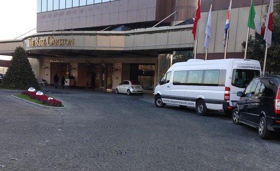 The Ritz-Carlton, Istanbul : main dor