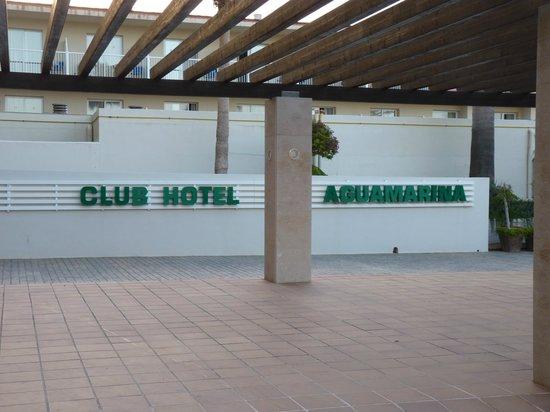 Club Hotel Aguamarina: Entrata