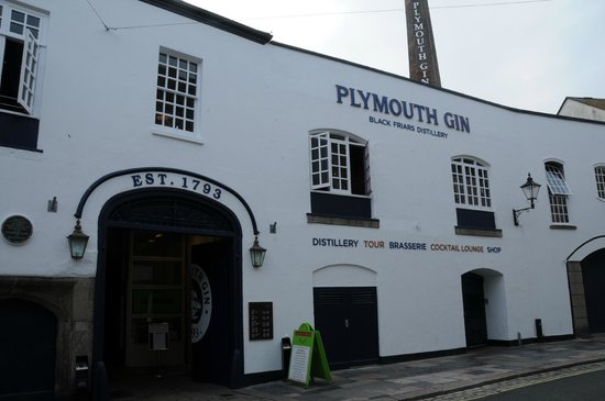 Plymouth Gin Distillery: 'Possibly the best gin in the world.'