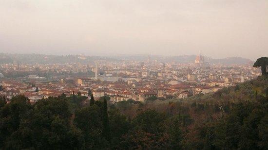 Il Salviatino: 朝の眺め