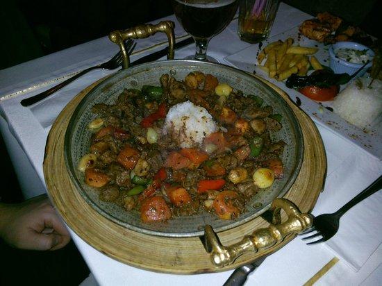Antique Turquoise Restaurant : Забыл название, но было вкусно