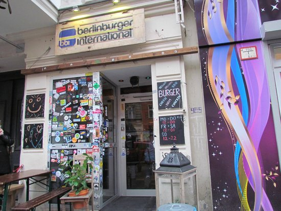 BBI - Berlin Burger International: l'entrata