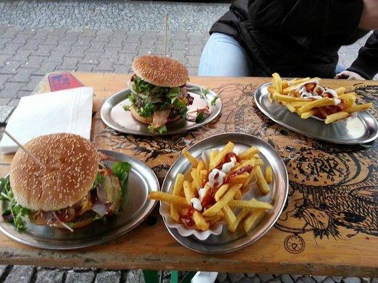 BBI - Berlin Burger International: le porzioni