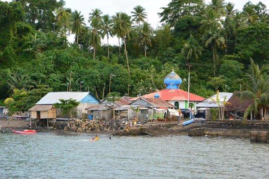 Cocotinos Manado: annex Moslim dorp