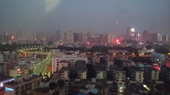 Holiday Inn Express Shenzhen Luohu: View from room 1518