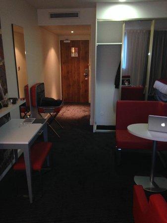 Mercure Lyon Centre Saxe Lafayette: salon