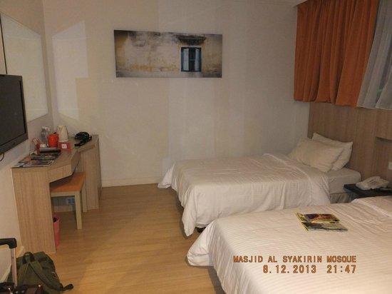 Swiss Inn Kuala Lumpur : Room 726 Swiss Inn Kuala Lumpar