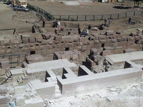 Ankara Citadel (Hisar): Yeni kalıntılar
