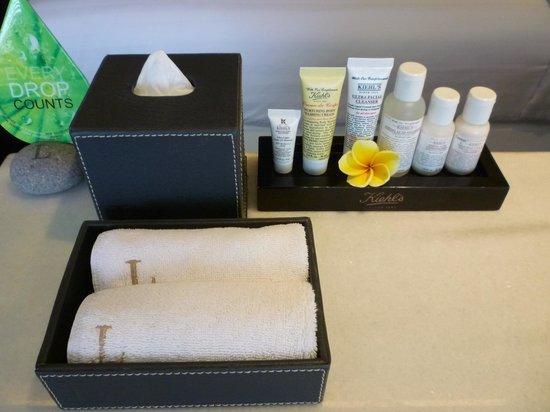 L Hotel Seminyak : Kiehl's beauty products