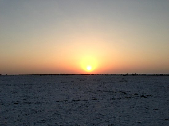 Great Rann of Kutch: Sunset