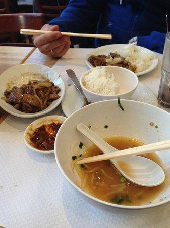 Hao Hao: repas très copieux