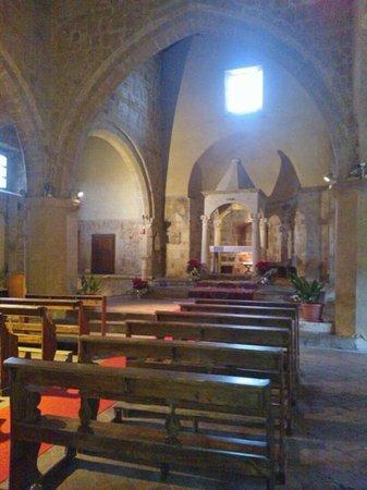 Duomo di Sovana -Cattedrale di San Pietro e Paolo: navata