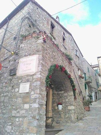 Il Borgo di Sempronio : la reception