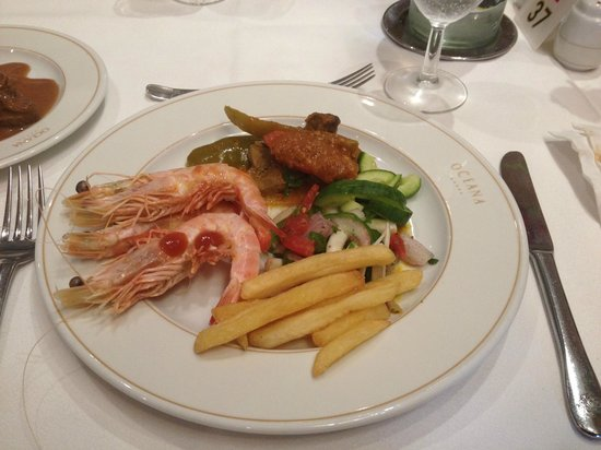 Hotel Palace Oceana: Food