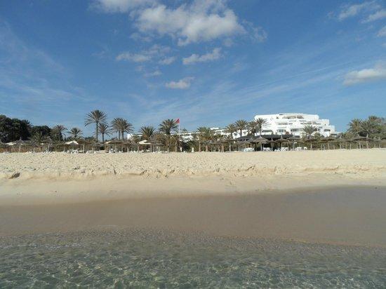 Hotel Palace Oceana Hammamet: hotel from beach