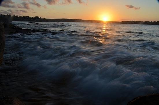 Cronulla, Australien: Sunset Port Hacking from Jibbon point