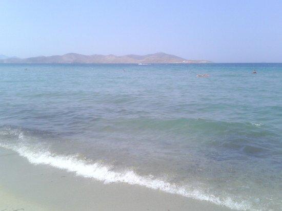 Tigaki Beach Hotel: beach & view pserimos island