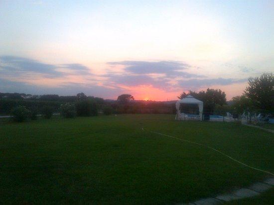 Agriturismo I Mori Gelsi : Vista sul tramonto