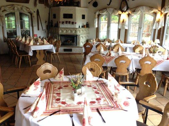 Hotel & Restaurant Zur Spreewaelderin: Restaurant/Kamin