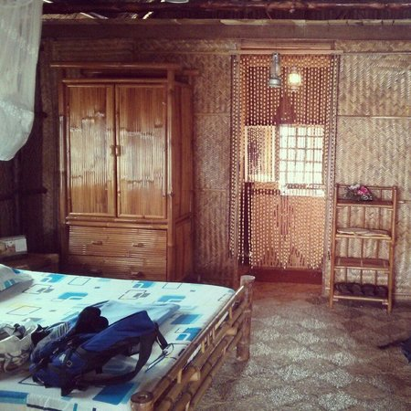Mekong Floating House: Our room.