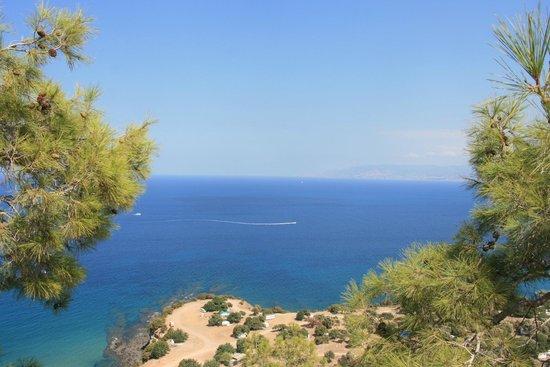 Avanti Hotel: View from the Akamas peninsula