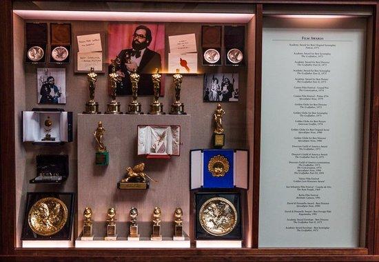 Francis Ford Coppola Winery : Godfather awards