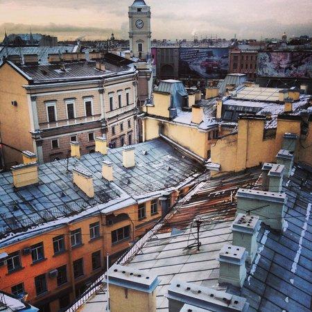 Park Inn by Radisson Nevsky St. Petersburg Hotel: из окна