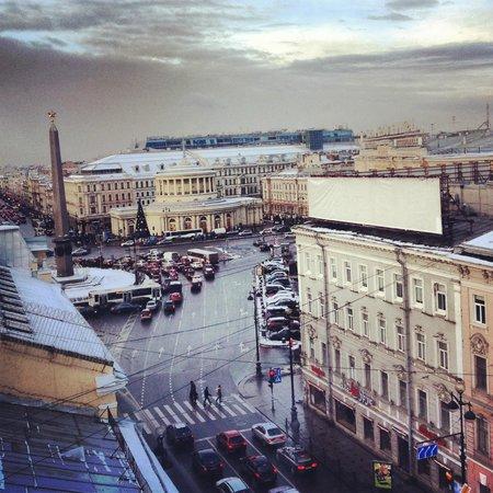 Park Inn by Radisson Nevsky St. Petersburg Hotel: Восьмой этаж