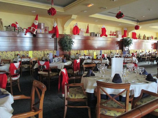 VIK Hotel San Antonio: Christmas in the restaurant