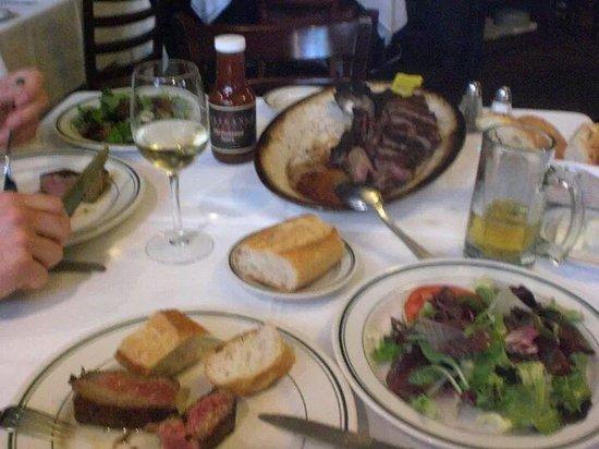 Wolfgang's Steakhouse: Das beste Steak der Welt.Im April 2012..Ein MUSS für alle Steak-Liebhaber