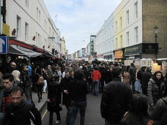 Portobello Road Market: Portobello road