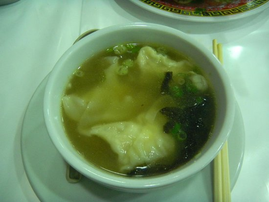 Rong He Restaurante: Not the wonton I knew.