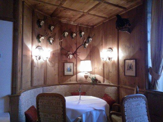 Grand Hotel Europa : Europa Stuberl restaurant dining room