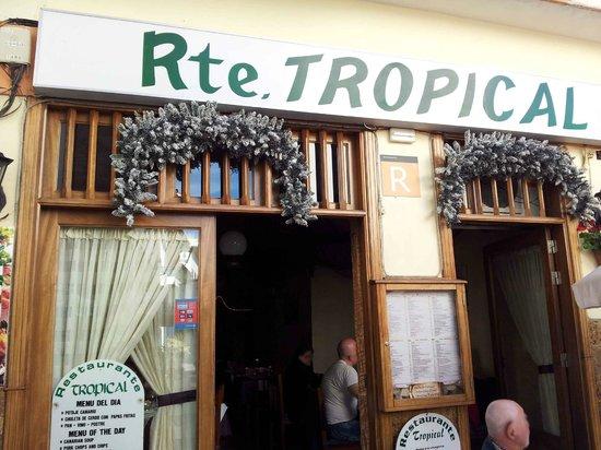 Restaurante Tropical : Aussenansicht 2
