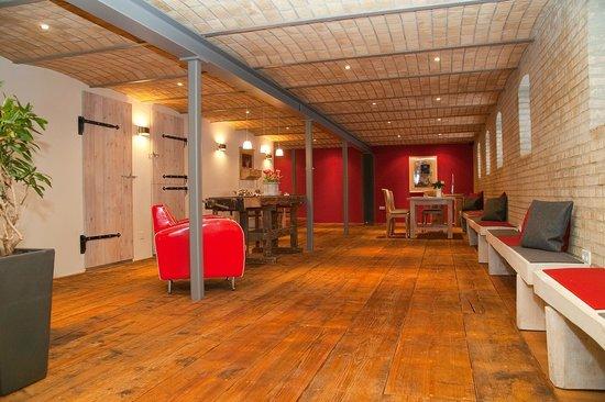 Hof Noerreheede: Restaurierter Stall - Frühstücksraum