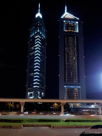 Crowne Plaza Dubai: Vista del World Trade Center di Dubai
