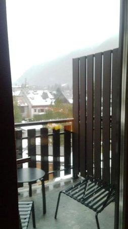 Hotel Les Aiglons Resort & Spa: balcon