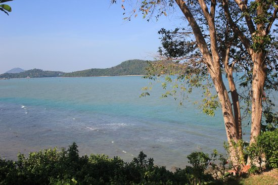 Cape Panwa Hotel: view from room