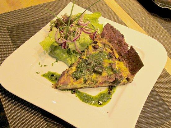 Quiche lorraine photo de restaurant escales luxembourg - La cuisine rapide luxembourg ...