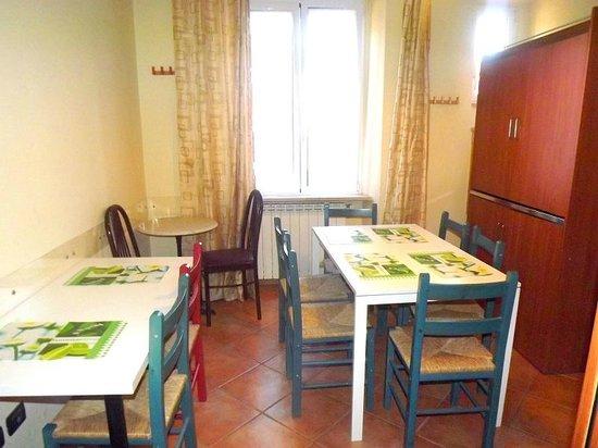 Villa Lanusei: sala colazioni