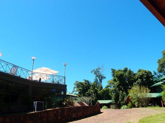 Iguazu Jungle Lodge: vista da porta do quarto 9