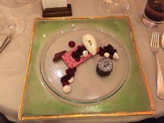 Fairmont Hotel Vier Jahreszeiten: Dinner at Restaurant Haerlin, Hotel Vier Jahreszeiten