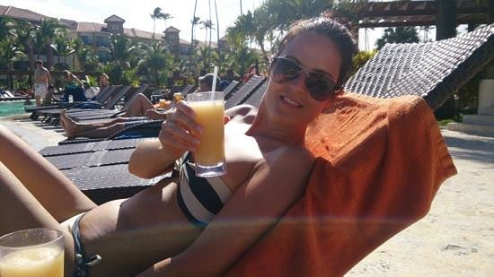 Now Larimar Punta Cana: Having a great time!!!