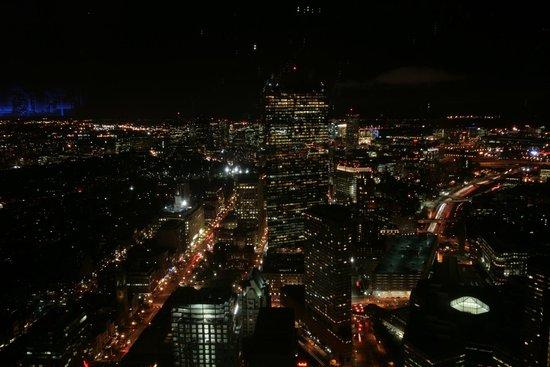John Hancock Tower: Aussicht vom Hancock Tower bei Nacht