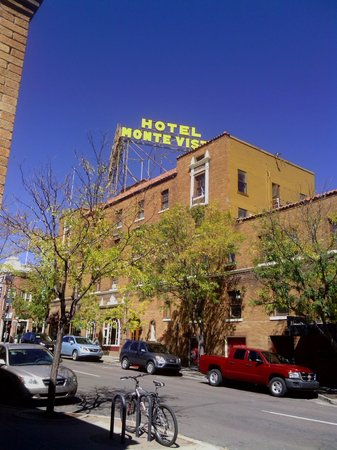 Hotel Monte Vista: View from across the street.