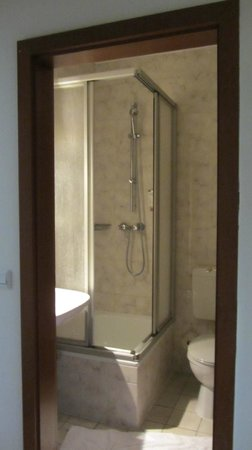Novum Hotel Plaza Düsseldorf Zentrum: туалет+душ