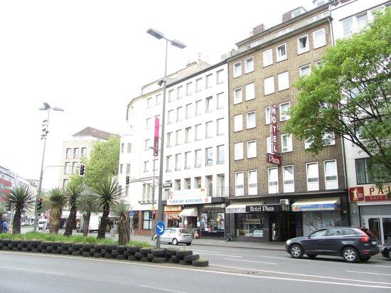 Novum Hotel Plaza Düsseldorf Zentrum: Centrum Hotel Plaza Dusseldorf