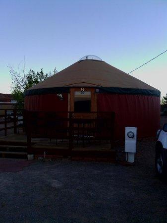 San Juan Inn : The wonderful yurt!