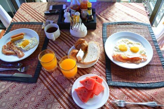 Boomerang Village Resort : Petit déjeuner complet