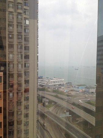 Island Pacific Hotel: Вид на залив